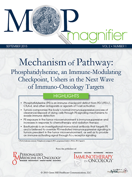 Mechanism of Pathway: Phosphatidylserine, an Immune-Modulating Checkpoint, Ushers in the Next Wave of Immuno-Oncology Targets