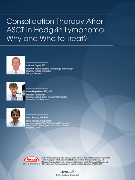Consolidation Therapy After ASCT in Hodgkin Lymphoma: Why and Who to Treat